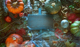 Einladung für Halloween-Partei Stockbilder