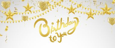 Einladungs-Designkonfettis der alles- Gute zum Geburtstagbeschriftung Hand gezeichnete Stockfoto