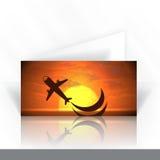 Einladungs-Karten-Design, Schablone Lizenzfreies Stockfoto