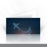 Einladungs-Karten-Design, Schablone Lizenzfreie Stockfotos