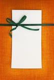 Einladungs- oder Grußkarte Stockfoto