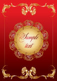 Einladungskarte Lizenzfreies Stockfoto