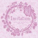 Einladungskarte Stockbild