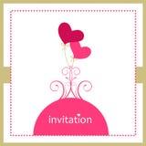 Einladungskarte Stockbilder