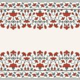 Einladungskarte mit Blumenverzierung Lizenzfreie Stockfotografie