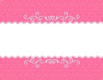 Einladungskartenhintergrund Stockbild