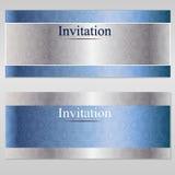 Einladungsluxuskarte Lizenzfreie Stockbilder