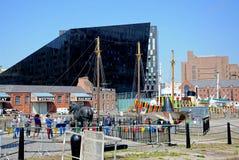 Einmachendes Dock, Liverpool Lizenzfreie Stockbilder