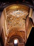 Einmal das Golden Dome von Bergamo mit Fenster Stockfoto