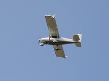 Einmotoriges Flugzeug Stockfotos