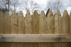 Einpfählungs-Zaun Panel Lizenzfreie Stockfotos