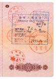 Einreisebewilligung Lizenzfreie Stockbilder