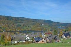 Einruhr, Eifel,North Rhine Westfalia,Germany Royalty Free Stock Photography