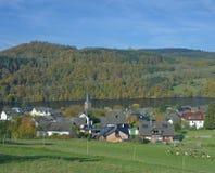 Einruhr, Eifel, Północny Rhine Westfalia, Niemcy Obrazy Royalty Free