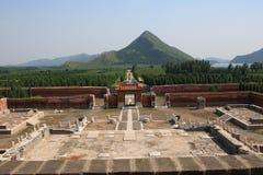 Eins der östlichen Qing Gräber Lizenzfreie Stockfotografie