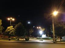 Eins der vielen Quadrate von Cochabamba, Bolivien lizenzfreies stockbild
