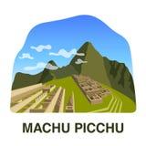 Eins von neuen 7 Wundern der Welt: Machu Picchu stockbild