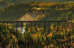 Einsame Brücke Lizenzfreie Stockbilder