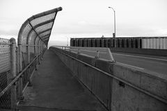 Einsame Brücke Stockfotos