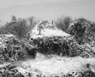 Einsame Hütte Stockbild