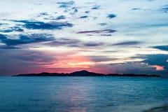 Einsame Insel Stockfoto