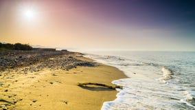 Einsame Insel lizenzfreie stockfotos