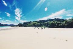 Einsame Insel Stockbild