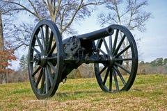 Einsame Kanone stockbild