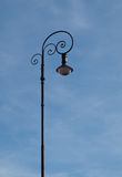 Einsame Lampe Lizenzfreie Stockbilder