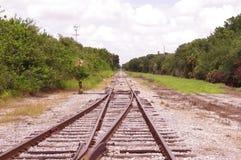 Einsame Schienen Lizenzfreie Stockbilder
