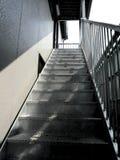 Einsame Treppen Stockfotos