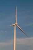 Einsame Windturbine Stockfotografie