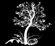 Einsamer Baum stock abbildung
