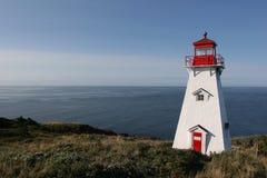 Einsamer Leuchtturm stockfoto