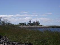 Einsamer Leuchtturm Stockfotos