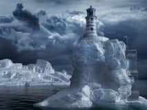 Einsamer Leuchtturm Lizenzfreies Stockbild