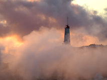 Einsamer Leuchtturm Lizenzfreie Stockfotografie
