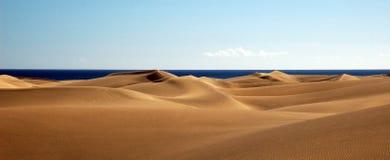 Einsamer Strand Stockbild
