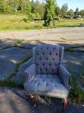 Einsamer Stuhl stockfoto
