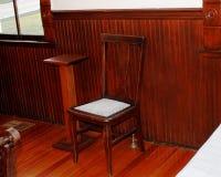 Einsamer Stuhl Lizenzfreie Stockfotos