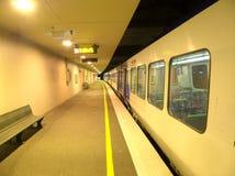 Einsamer Zug Stockbild