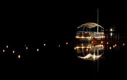 Einsames Boot stockfotografie
