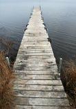 Einsames Dock Stockbild
