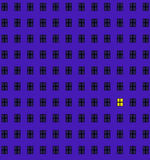 Einsames Fenster Stockbilder