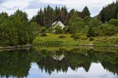 Einsames Haus Lizenzfreies Stockbild
