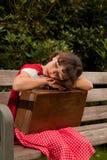 Einsames Mädchen Lizenzfreie Stockfotos