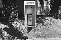 Einsames Münztelefon Lizenzfreie Stockfotografie