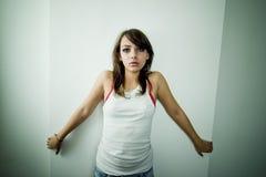Einsames Mädchen 2 Stockbilder