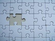 Einsames Puzzlespiel stockbild