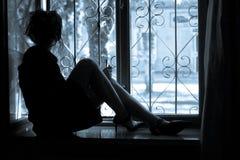 Einsamkeit stockbild